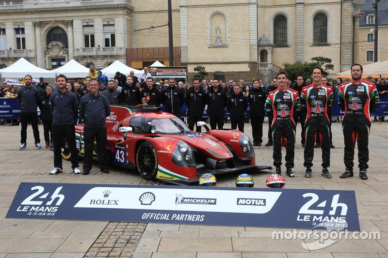 #43 RGR Sport by Morand Ligier JSP2 - Nissan: Рікардо Гонсалес, Філіпе Альбукерке, Бруно Сенна