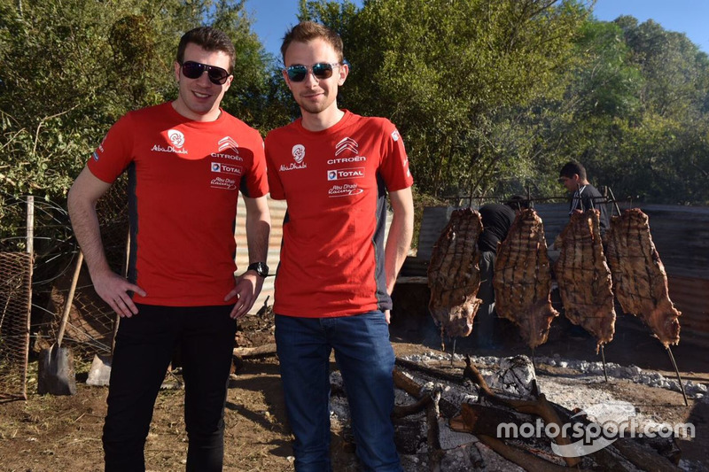 Gabin Moreau et Stéphane Lefebvre, Citroën World Rally Team