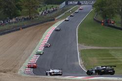 #42 Strakka Motorsport McLaren 650S GT3: David Fumanelli, Lewis Williamson