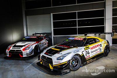 GT-R NISMO GT3 команды Nissan Motorsport