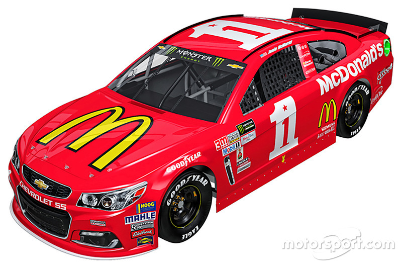 Throwback-Design: Jamie McMurray, Chip Ganassi Racing Chevrolet
