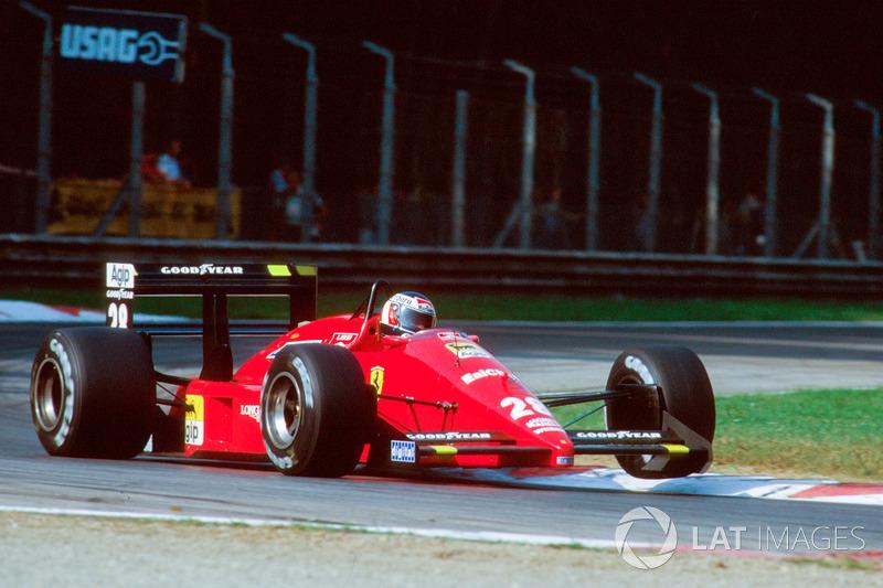 21: Gerhard Berger: 115 grandes premios (el 54,76 % de los disputados)