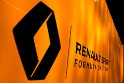 Le logo du Renault F1 Team
