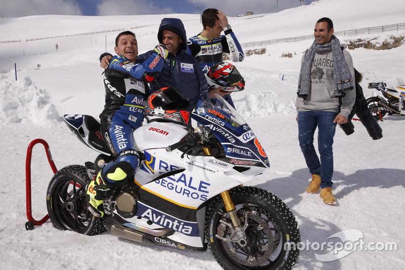 Emilio Zamora, Avintia Racing MotoGP con Loris Baz y Hector Barbera