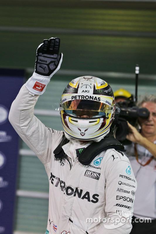 Ganador de la pole: Lewis Hamilton, Mercedes AMG F1