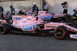 Эстебан Окон, Sahara Force India F1 VJM10: прокол