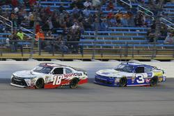 Kyle Benjamin, Joe Gibbs Racing Toyota and Scott Lagasse Jr., Chevrolet