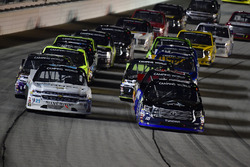 Johnny Sauter, GMS Racing Chevrolet, Ryan Truex, Hattori Racing Enterprises Toyota