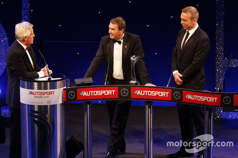 Gregor Grant Award : Nigel Mansell