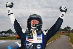 1. Petter Solberg, PSRX Volkswagen Sweden, VW Polo GTi