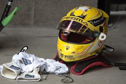 Helmet of Maximilian Günther, Prema Powerteam Dallara F317 - Mercedes-Benz