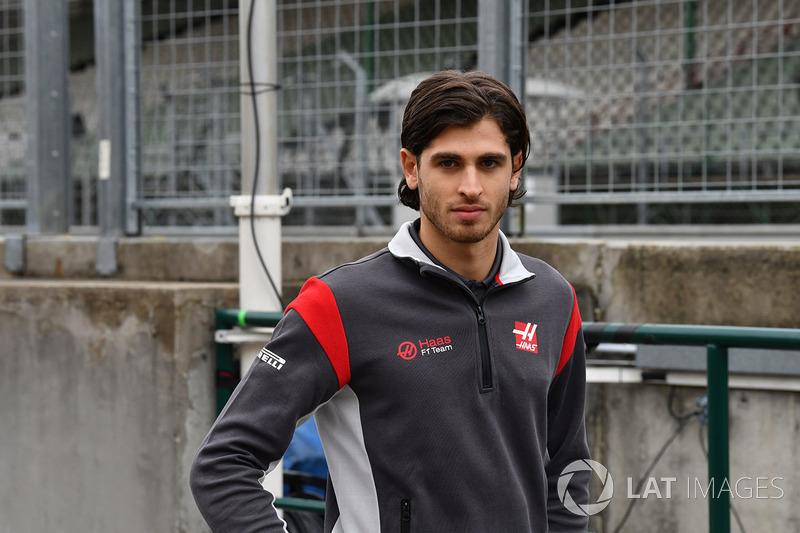Antonio Giovinazzi, Haas F1