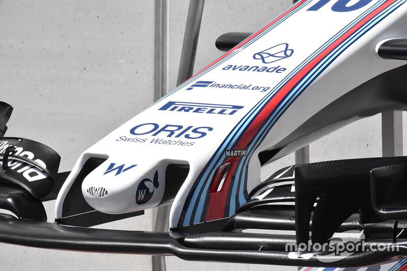 Nez de la Williams FW40
