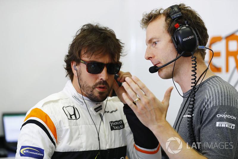 Фернандо Алонсо, McLaren, Марк Темпл, гоночний інженер McLaren