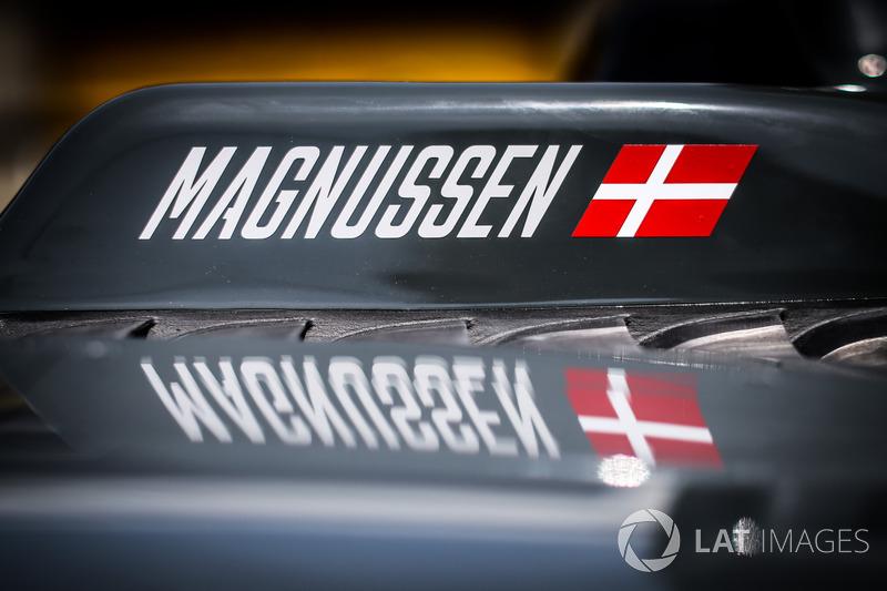 Name von Kevin Magnussen, Haas F1