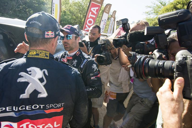 Sebastien Loeb, Peugeot Sport y Stephane Peterhansel, Peugeot Sport