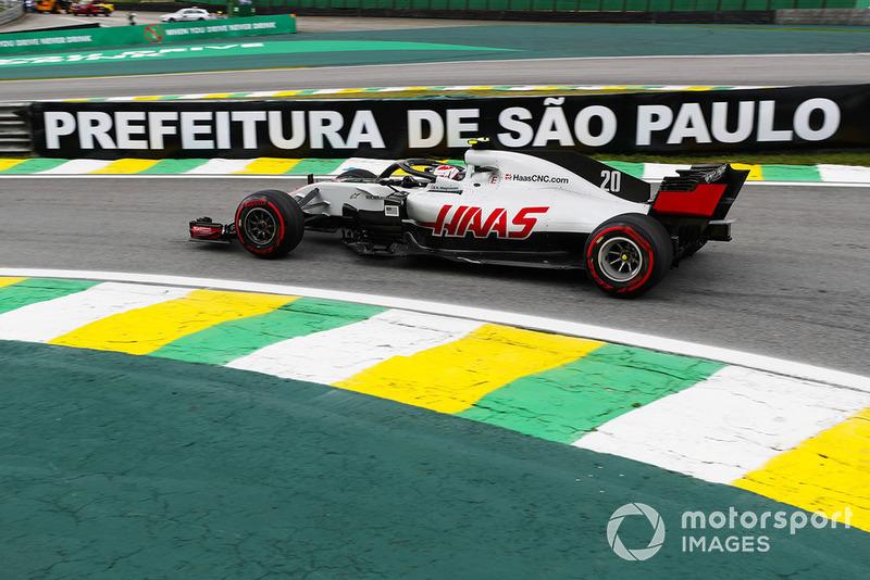 9º Haas con Kevin Magnussen: 2,61 segundos