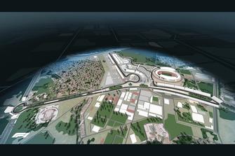 2020 Vietnamese circuit rendering