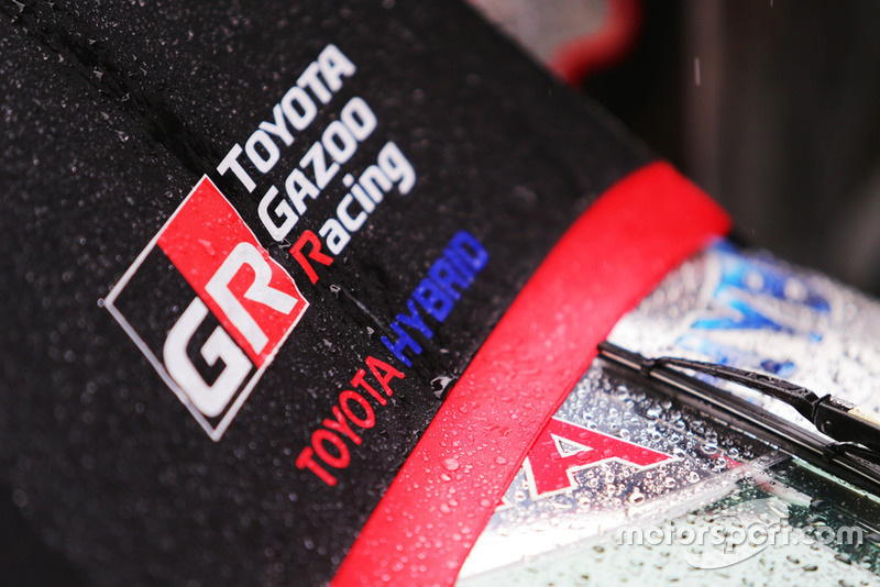 Detalle del Toyota Gazoo Racing team