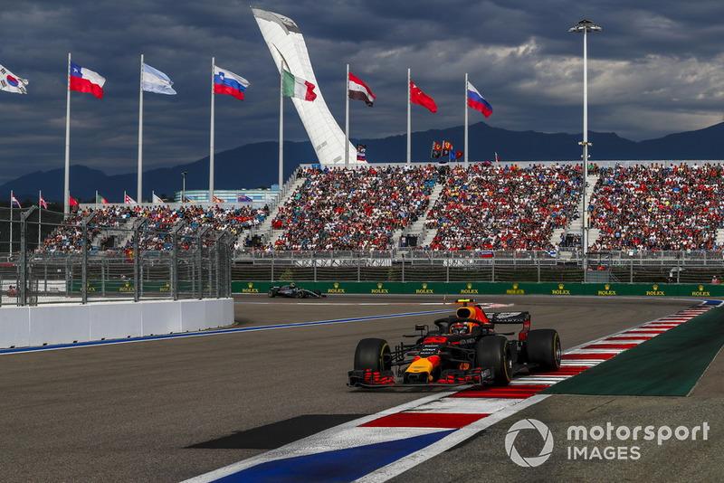 GP de Rusia Max Verstappen