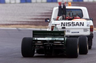 Johnny Herbert, Jaguar R1