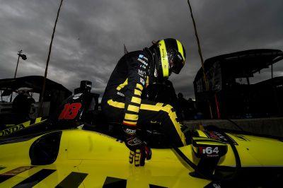 IndyCar-Test in Laguna Seca