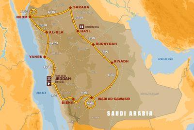 Dakar 2021 - Prezentacja