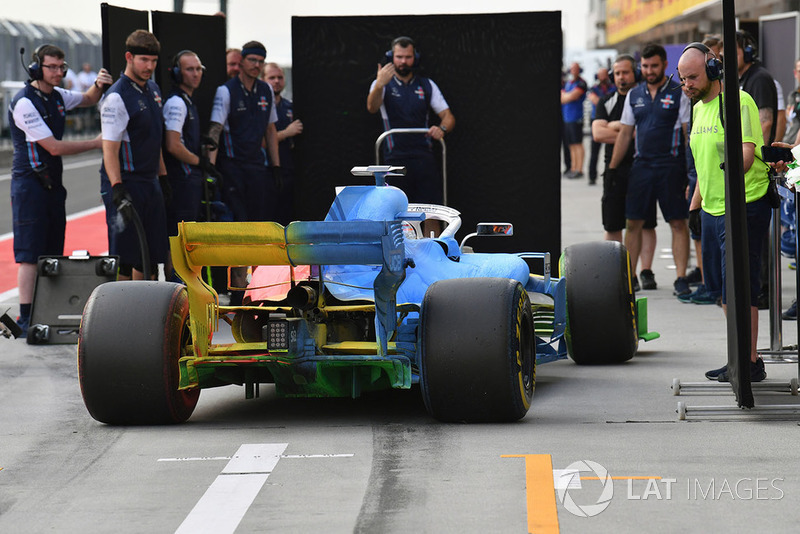 Роберт Кубіца, Williams FW41 із аерофарбою по всій машині