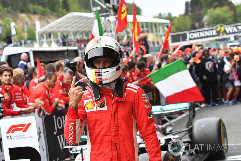 Winnaar 1: Sebastian Vettel