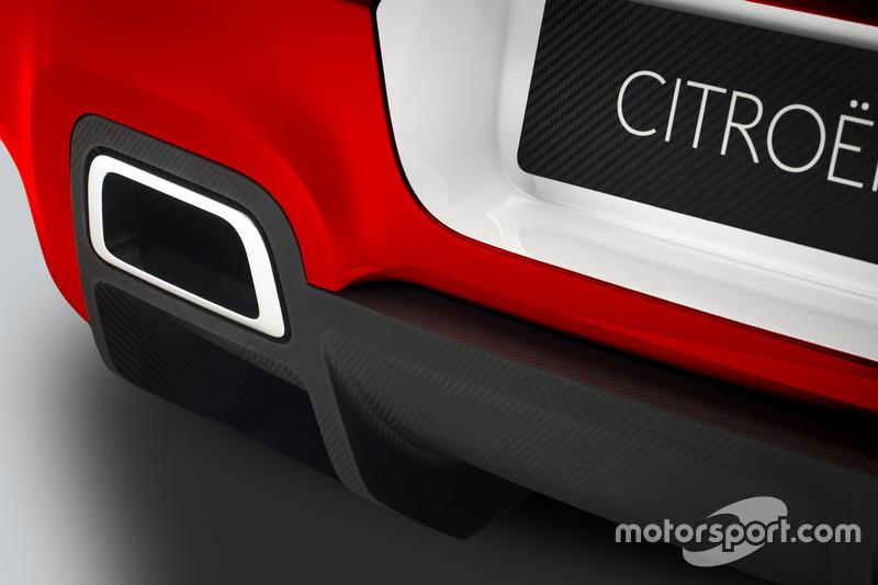 Citroën C3 WRC Concept car, detail