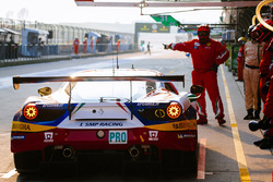 #51 AF Corse Ferrari 488 GTE: Джанмарія Бруні, Джеймс Каладо