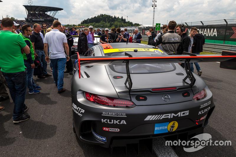 #30 AMG-Team HTP Motorsport, Mercedes-AMG GT3