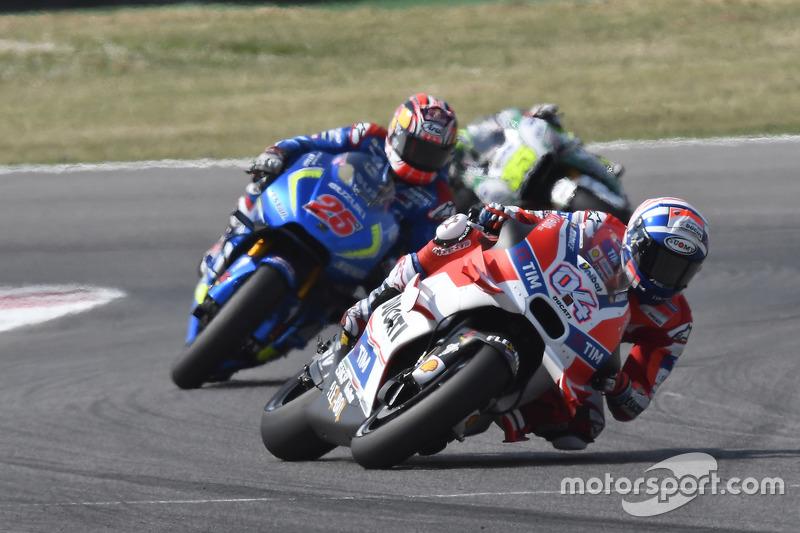 Andrea Dovizioso, Ducati Team, Maverick Viñales, Team Suzuki Ecstar MotoGP