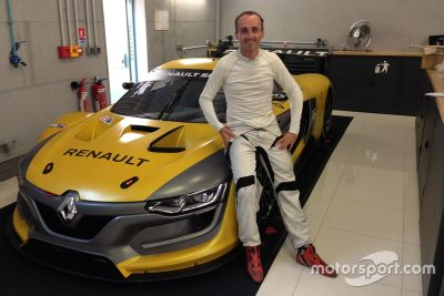 Robert Kubica no Renault Sport Trophy