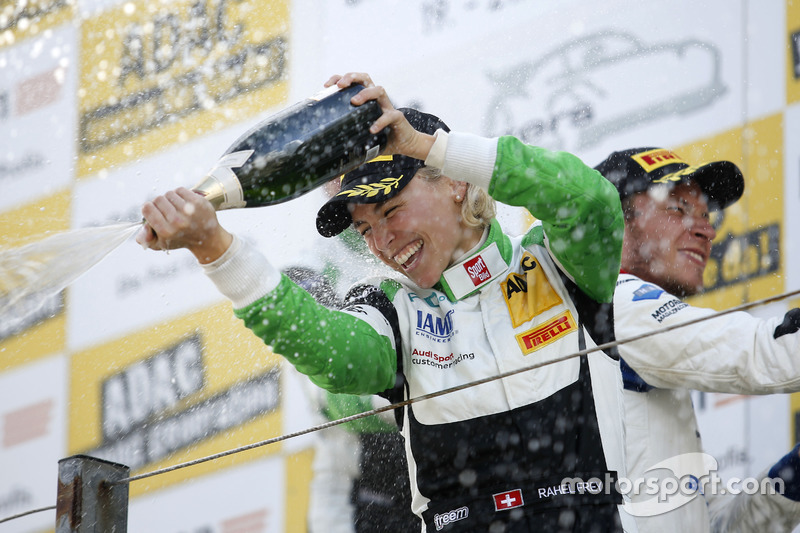 Podio: #50 YACO Racing, Audi R8 LMS: Rahel Frey