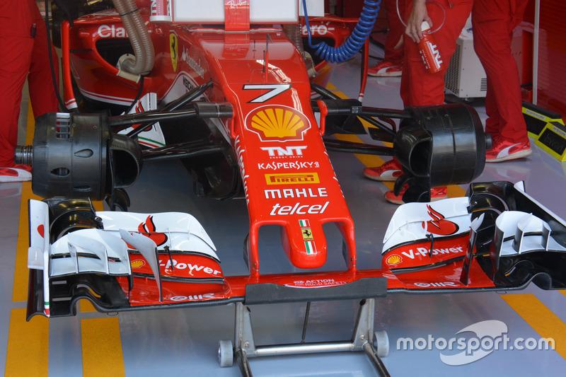 Ferrari SF16-H, Front wing