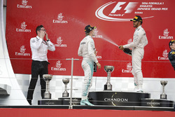 Нико Росберг, Mercedes AMG F1, Льюис Хэмилтон, Mercedes AMG F1