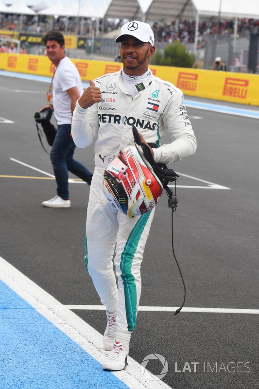 Pole: Lewis Hamilton, Mercedes-AMG F1