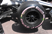 Sauber C37 wheel