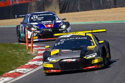#17 Team WRT Audi R8 LMS: Stuart Leonard, Frederic Vervisch