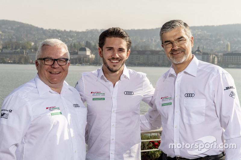Stefan Moser, Audi Sport Communication, Daniel Abt, Audi Sport ABT Schaeffler, Dieter Gass, Head of DTM Audi Sport
