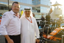 Eric Boullier, Yarış Direktörü, McLaren, Şeyh Mohammed bin Essa Al Khalifa