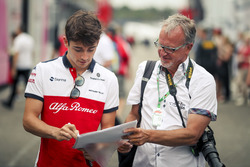 Charles Leclerc, Sauber zet handtekening