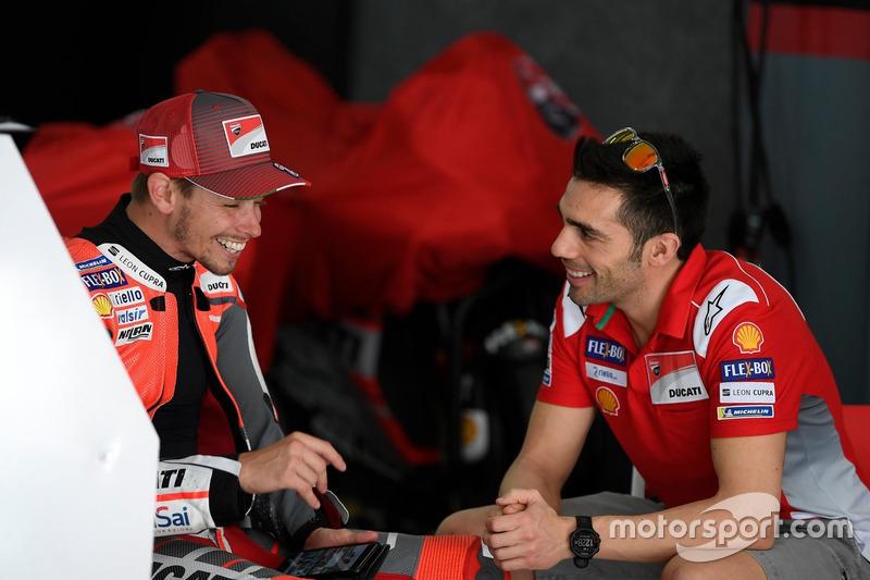 Кейсі Стоунер, Мікеле Пірро, Ducati Team