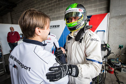 Pole sitters #43 BMW Team Schnitzer BMW M6 GT3: Augusto Farfus, Chaz Mostert, Marco Wittmann