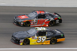 Ryan Sieg, RSS Racing Chevrolet, Christopher Bell, Joe Gibbs Racing Toyota