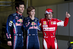Sebastian Vettel, Red Bull Racing, Mark Webber, Red Bull Racing, Fernando Alonso, Ferrari