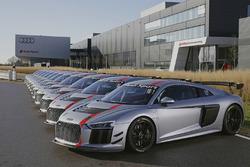 Audi R8 LMS GT4 teslimatı