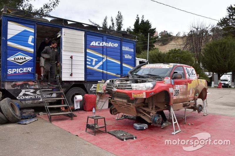 Toyota #399: Лусіано Перес Гача, Альвардо Хесус Вальдівія Скотт