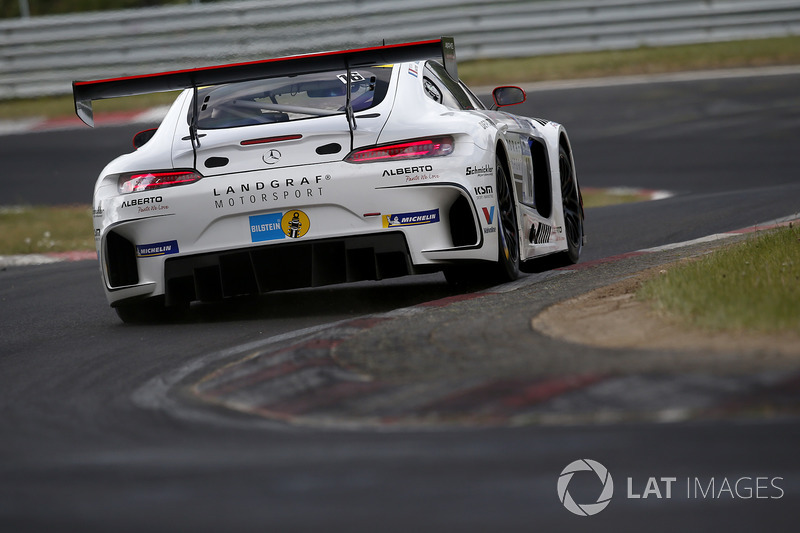 10. #16 Landgraf Motorsport Mercedes-AMG GT3: Kenneth Heyer, Sebastian Asch, Edward Sandström, Tristan Vautier